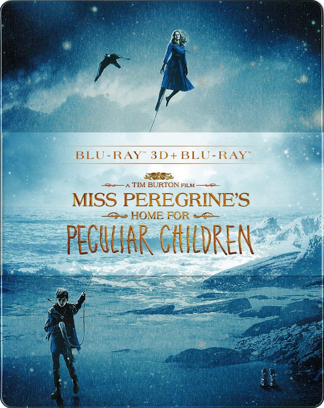 ミス・ペレグリンと奇妙なこどもたち 3D & 2D ブルーレイセット スチールブック