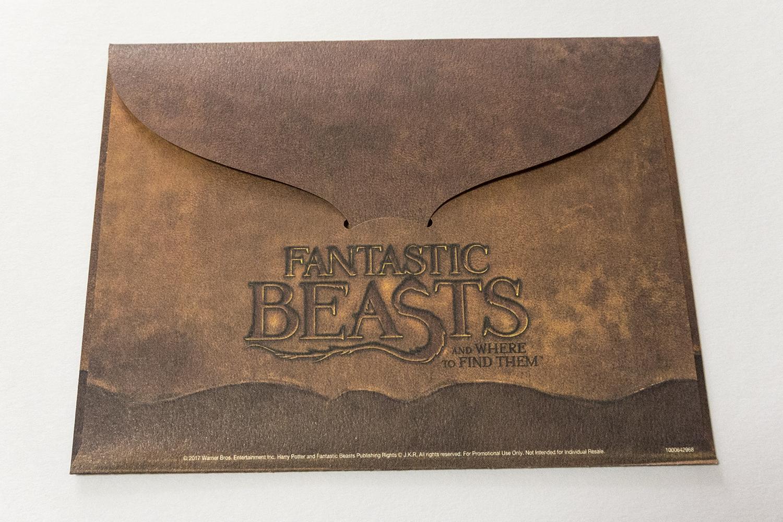ファンタスティック・ビーストと魔法使いの旅 スチールブック Fantastic Beasts and Where to Find Them steelbook