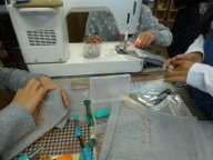 小学生の手芸教室3月