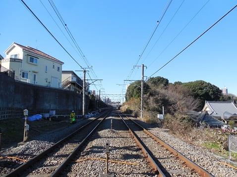横浜線の金森踏切@町田市f