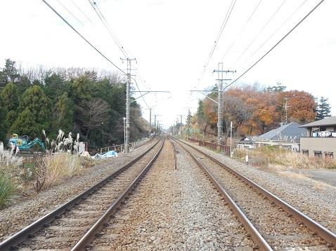 横浜線の成瀬踏切@町田市f