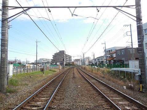 横浜線の成瀬踏切@町田市e