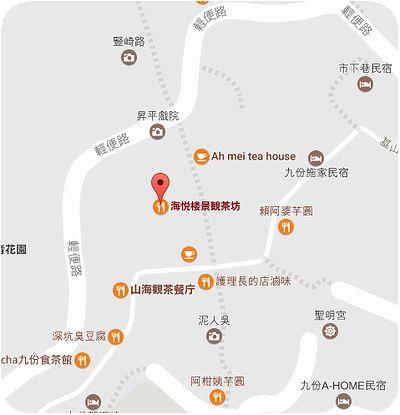 海悦楼景観茶坊地図