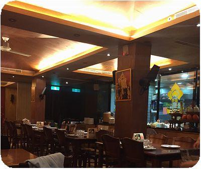 泰美泰國原始料理店内