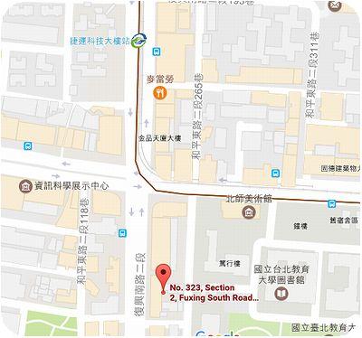 烏鐵茶水舖地図