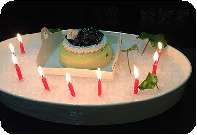 燈燈庵ケーキ