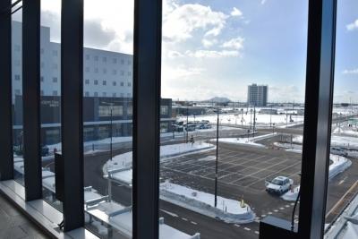 新函館北斗駅南口にホテルが