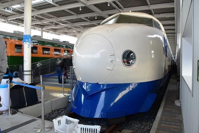 初代新幹線電車0系21形1号車