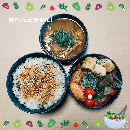 ★2月16日(木)砂肝とピーマンの塩コショウ炒め弁当