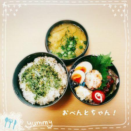 ★3月26日(日)手羽元のコーラ煮弁当1