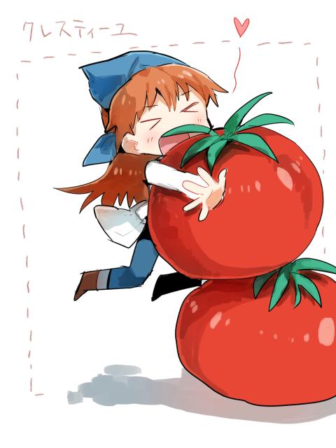 ルナンとトマト