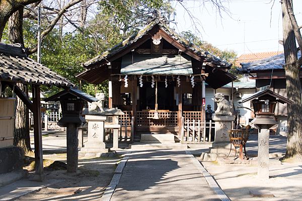 吹上八幡社拝殿