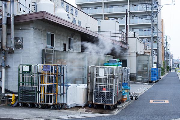 豆腐屋の煙