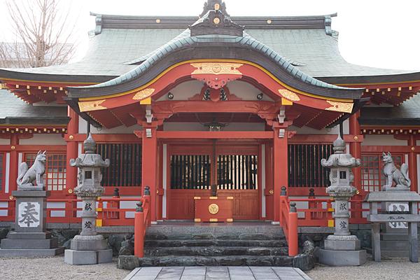 古渡稲荷神社拝殿