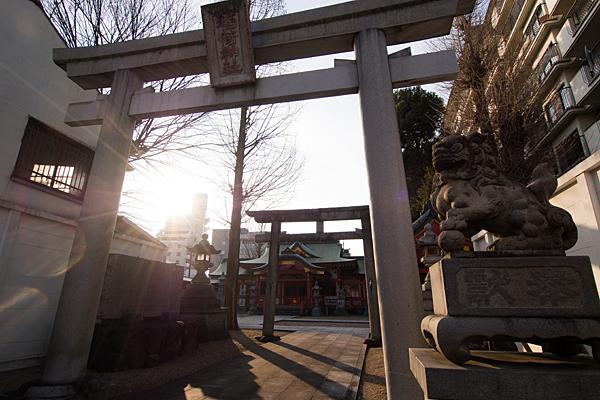 古渡稲荷神社東鳥居