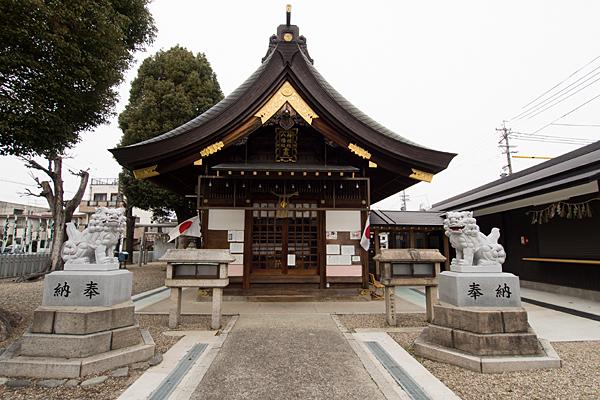 神明社八幡社拝殿