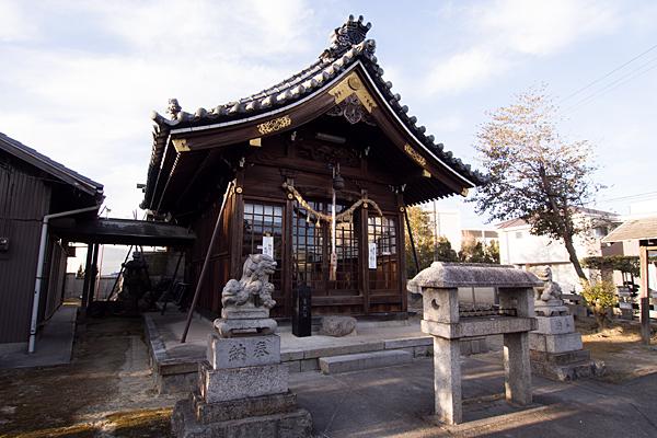 大我麻神社拝殿