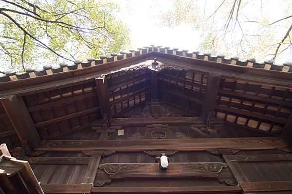 七所社拝殿
