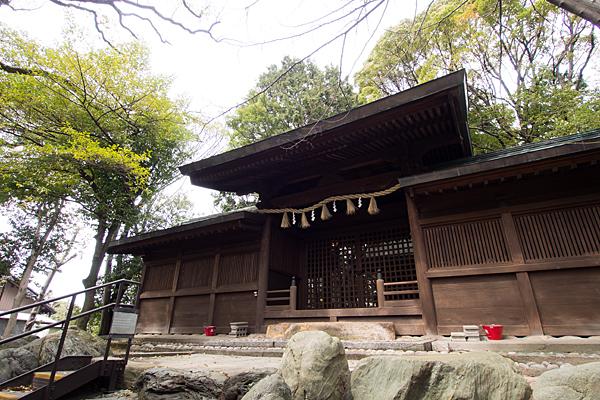 大乃伎神社本殿