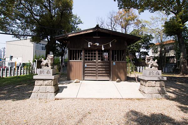 若宮八幡社拝殿