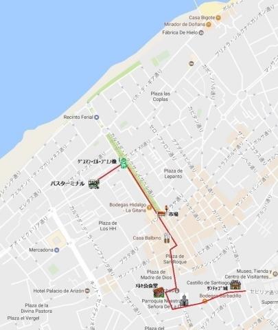 mapa de サンルーカル 02