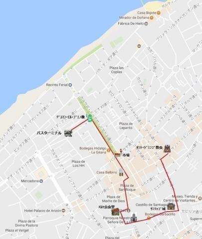 mapa de サンルーカル 03