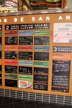 3172 Mercado San Anton en Madrid