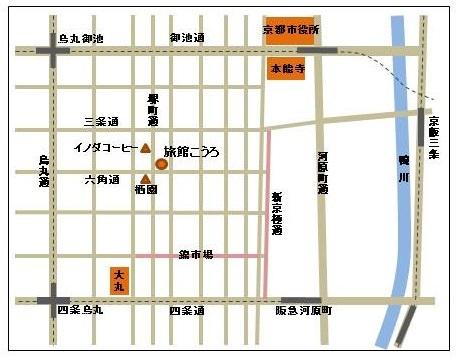 京都中心部