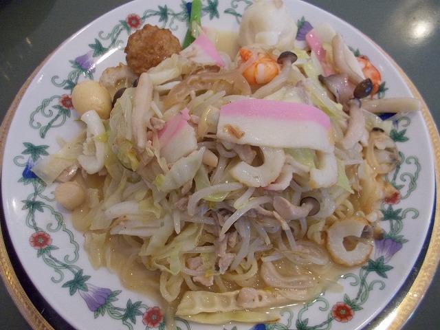 皿うどん 太麺