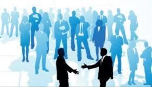ビジネスと握手