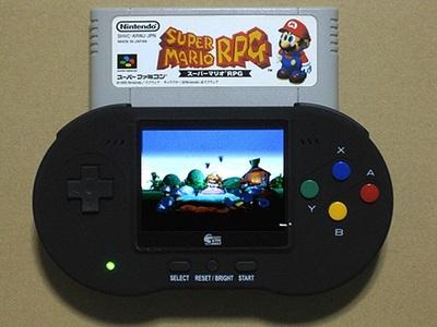 SFC pokeFAMI スーパーファミコン 携帯機 携帯型スーパーファミコン互換機