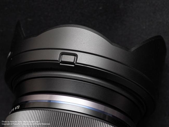 M.ZUIKO DIGITAL ED 12-100mm F4.0 IS PROの純正レンズフード