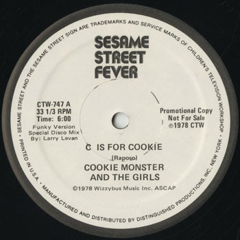 DG_COOKIE MONSTER AND THE GIRLS_C IS FOR COOKIE_201704