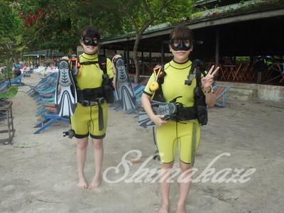 プーケット プーケットしまかぜ案内人 コーラル島体験ダイビング