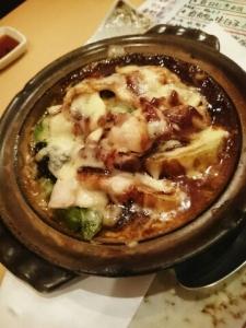 春野菜の味噌チーズ焼き