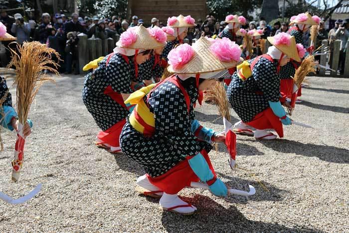 鏡作神社 御田植祭2