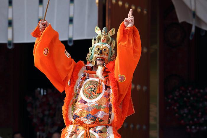 薬師寺 花会式 舞楽2