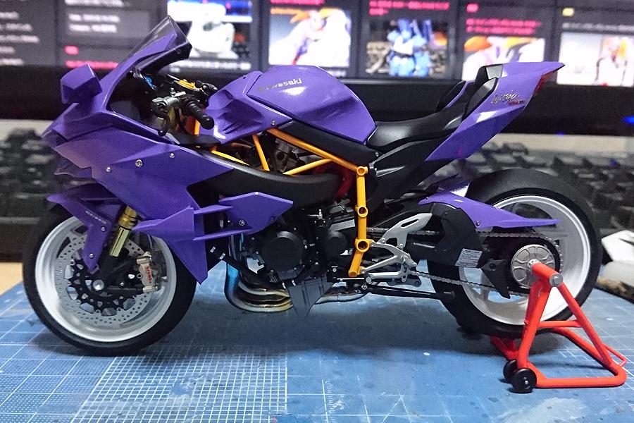 KAWASAKI Ninja H2R 改修