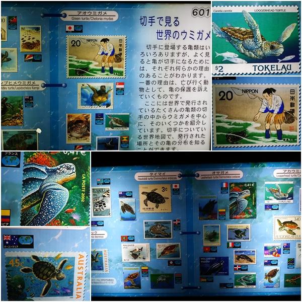 世界のウミガメ切手