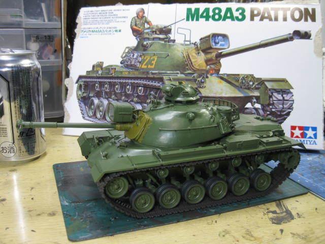 M48A3 タミヤ 塗装の3
