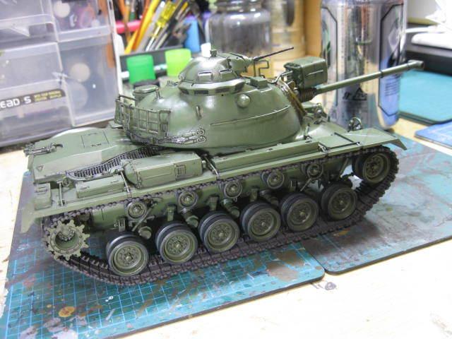 M48A3 タミヤ 塗装の4