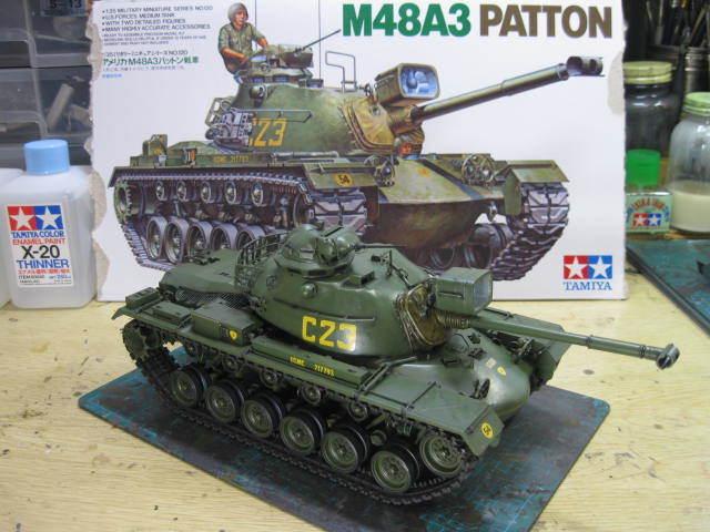 M48A3 タミヤ 塗装の5