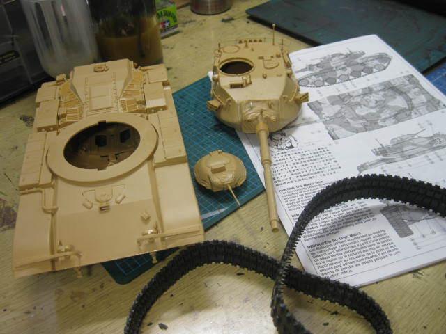 M60A3 迷彩開始の1