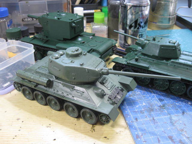 T-34/85 プラウダグリーン の2