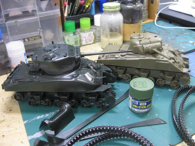 M4 サンダース 塗装の1