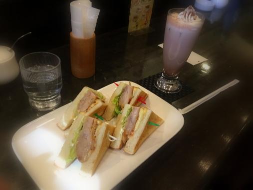 お昼ご飯Nezu Cafe 2017-05-02