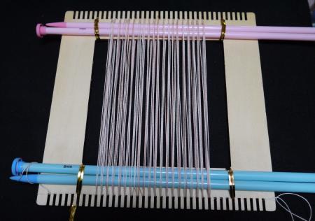 セリア手織りツール縦糸張りウラ201703