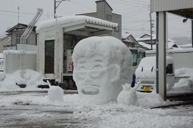 ガソリンスタンドのピコ太郎