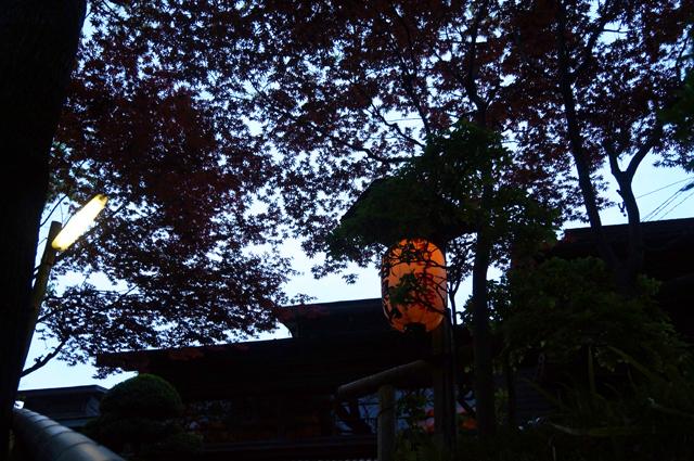 鎌田鳥山入口にて