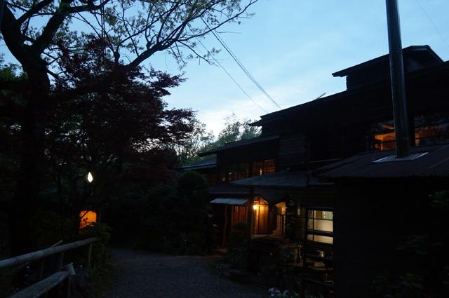 鎌田鳥山の夕景